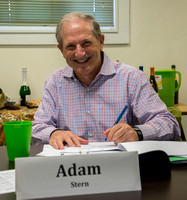 Adam Stern Signs the Agreement