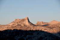 Cathedral Peak at Sunset