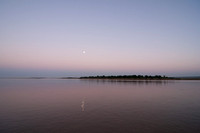 Moonrise over the Irrawaddy