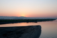 Sunrise on the Irrawaddy