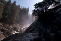 Vernal Falls from Mist Trail
