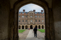 Entering Third Court, St. John's College
