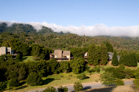 Fog-decked Skyline from Portola Valley Ranch