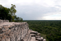 View from the Top of the Great Pyramid, Cobá